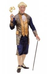 18th Century Blue Marquis Costume